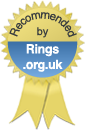Recommended by Rings.org.uk